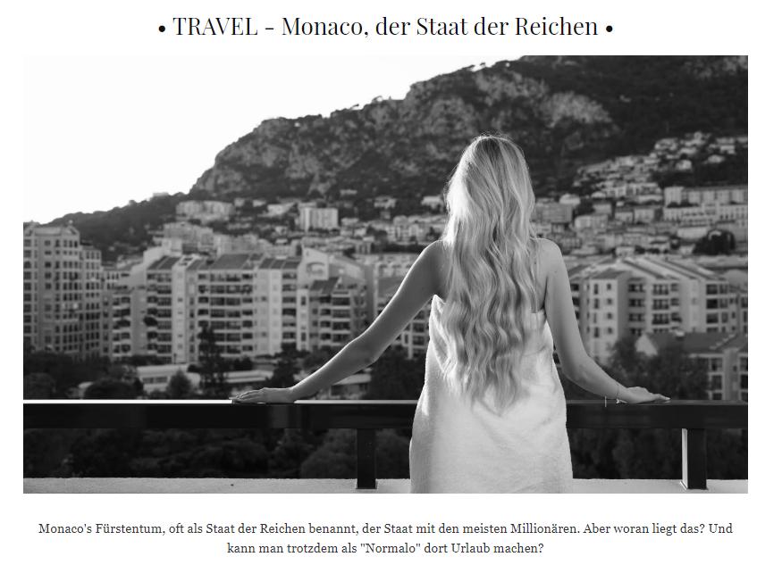 Monaco, der Staat der Reichen - Lourengoll im Columbus Monte-Carlo