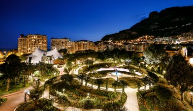 Fontvieille by night